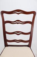 Georgian Mahogany Ladderback / Desk Chair (8 of 13)
