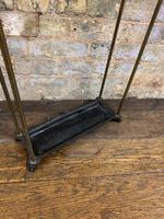 Brass & Steel Umbrella Stand (5 of 5)