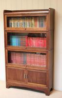Oak Stacking Bookcase c 1920 (3 of 10)