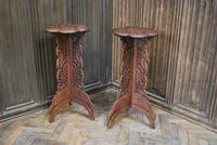 Decorative Pair of Indian Table Stands (2 of 6)