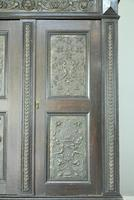 Antique Large Dark Oak Cupboard (6 of 13)