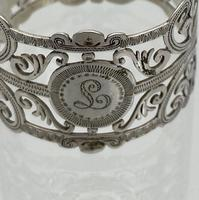 Early 20th Century Antique Edwardian Sterling Silver Set Six Napkin Rings London 1906 George Maudsley Jackson & David Fullerton (6 of 7)