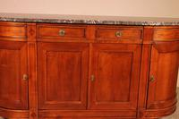 Louis XVI Buffet In Cherry Wood With Marble Top (8 of 9)