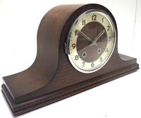 Art Deco Napoleon Hat Shaped Mantel Clock – Striking 8-day Arched Top Mantle Clock (5 of 10)