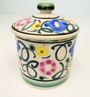 Honiton Pottery Jar 'Sweet Pea' 1930s (3 of 6)