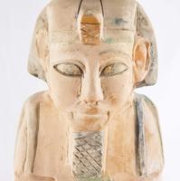 Vintage Egyptian Stone Sarcophagus (2 of 6)