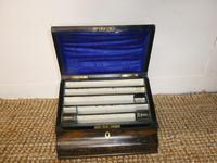 19th Century Coromandel Stationery Box (2 of 8)