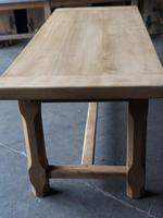 Bleached Oak Normandie Farmhouse Dining Table (9 of 10)