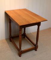 Light Oak Side Table (8 of 8)