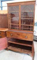 Large Mahogany Regency Secretaire Bookcase c.1820 (5 of 7)