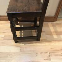 1680's Oak Pegged Chair (8 of 15)