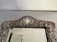 Fine Quality Silver Easel Mirror (3 of 5)
