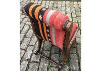 Kilim Covered Slipper Chair (5 of 6)
