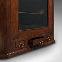 Antique Corner Cabinet, English, Oak, Flame Mahogany, Cupboard, Georgian c.1800 (12 of 12)