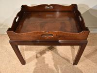 Mid 18th Century Mahogany Tray on Stand (4 of 8)