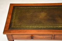 Antique Victorian  Mahogany  Leather   Top Writing Table / Desk (5 of 10)