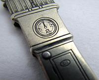 Rare ESSO Solingen Folding Pocket Knife, Advertising Gas Pump Standard Motor Oil Novelty Penknife. Germany c.1920 (7 of 9)