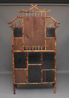 Impressive 19th Century Bamboo Cabinet (9 of 18)