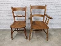 Set of Oxford Barback Windsor Chairs with 2 Carvers (5 of 7)