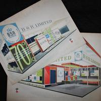 BSR Exhibition Stand Drawings - 1963 (2 of 12)