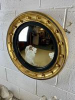 Regency Convex Gilt Mirror (4 of 6)