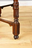 Victorian Walnut Library Table (3 of 9)