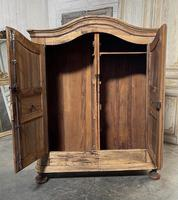 18th Century French Fruitwood Armoire (10 of 19)