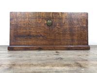 19th Century Oak Box Belonging to Henry Hanmer MP (3 of 16)