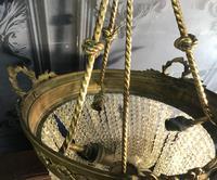 Brass Basket Shaped Light Fitting (11 of 11)