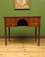 Slightly Wonky Antique Writing Table with Drawers (5 of 19)