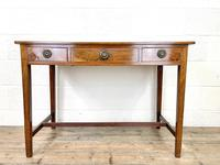 Antique Mahogany Side Table with Drawers (2 of 10)