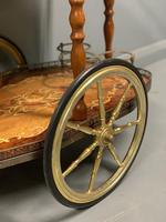 French Marquetry Drinks Trolley (4 of 4)