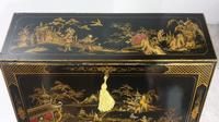Outstanding Chinoiserie / Laquered Bureau (5 of 15)