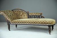 Antique Victorian Chaise Longue
