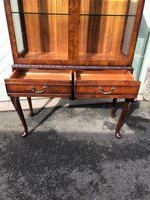 Antique Burr Walnut Display Cabinet (3 of 10)