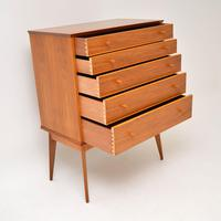 Vintage Walnut Chest of Drawers by Alfred Cox (4 of 9)