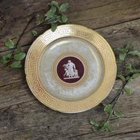 Early Coalport Neo Classical Dessert Plate Greek Key Border c.1805-1810 (8 of 8)