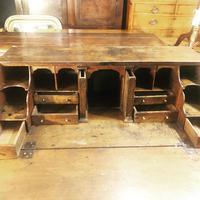 Early 18th Century Oak Bureau on Stand (6 of 7)