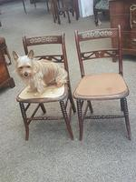 Pair of Brass Inlaid Chairs (9 of 9)