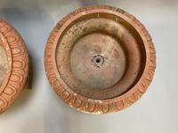Pair of Terracotta Campana Garden Urns (5 of 13)