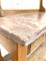 Antique Pine Tile Back Washstand (10 of 15)