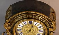 Massive Buele Mantle Clock Double Fusee (12 of 17)