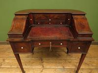 Antique 19th Century Carlton House Desk Mahogany Writing Table of Immense Character (3 of 30)