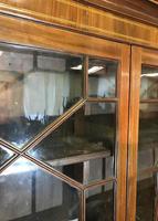 Georgian Mahogany Bureau Bookcase (12 of 17)
