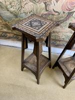Pair of 19th Century Inlaid Stands (2 of 7)
