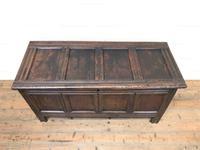 Antique Oak Blanket Box (2 of 13)