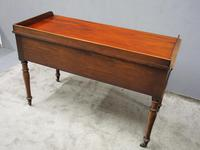 William IV Mahogany Side Table / Desk (3 of 8)