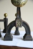 Pair of Victorian Cast Iron Fire Dogs (8 of 9)