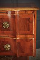 Walnut Serpentine Shaped Chest of Drawers (11 of 14)