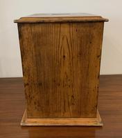 Antique Pine Microscope Slide Cabinet (4 of 17)